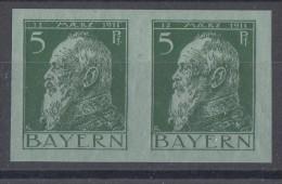 Bayern Minr.77IU Postfrisch Waager. Paar - Bayern