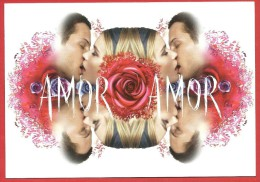CACHAREL - Amor Amor - Parfum Pour Elle - CARTOLINA PROFUMATA - PREMIERE CARD - PROMOCARD PARFUM - Profumeria Moderna (a Partire Dal 1961)