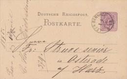 DR Ganzsache Leer Bahnhof 1.4.75 Seltener Stempel - Allemagne