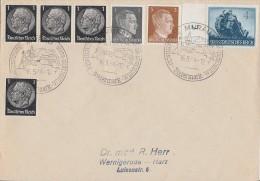 DR Brief Mif Minr.4x 512,781,782,874 SST Murau 16.5.44 - Deutschland