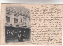 Poperinge, Poperinghe, Imprimerie, faiences, verreries, Sansen Decorte, ZELDZAAM  (pk14170)