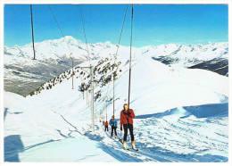 73- Montchavin Plagne Bellecote -vue Sur Le Sommet Du Dos Rond... - France