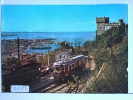 Trieste - Panorama Del  Porto E Della Ferrovia. - Other Cities