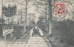 CIRCUIT DE LA SARTHE 1906 TRAVERSEE DE LA FORET DE VIBRAYE - Vibraye