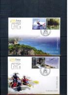 Montenegro 2009 Tourism - Sports FDC