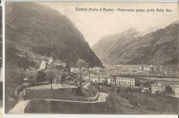 VERRES (VALLE D'AOSTA ) PANORAMA PRESO DALLA BELLE VUE   -FP - Aosta