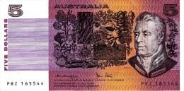 AUSTRALIA 1979 $5 Banknote Knight/ Stone AUnc - Emisiones Gubernamentales Decimales 1966-...