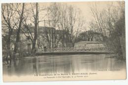 CPA VAL De MARNE - 94 - St Maur - Inondations De 1910 - Saint Maur Des Fosses