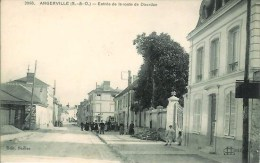 91 ANGERVILLE - Entrée De La Route  De Dourdan - Angerville