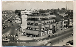Eindhoven - Stationsplein, Vestdijk Met Auto's - Eindhoven