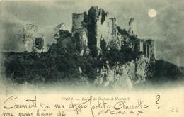 BELGIQUE - NAMUR - ONHAYE - FALAËN - Ruines Du Château De Montaigle. ( IVOIR !!! ) - Onhaye