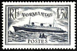 FRANCE  1935   -  Y&T   299   -  Paquebot Normandie  -  NEUF** - Cote 32e - Francia