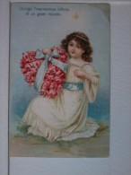 Cartolina Di   Auguri. ( GIunga L'espressione Inf.....) - San Valentino