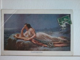 Cartolina - Contemplation. - San Valentino
