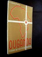 OUGANDA: Terre De Foi & Martyre Afrique Africa Colony Uganda Eglise Mission 1942 - Sin Clasificación