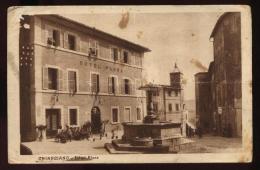 CHIANCIANO - SIENA - 1928 - HOTEL FLORA. ANIMATA.