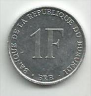 Burundi 1 Franc 1990. - Burundi