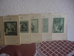 MIEUX VIVRE - LOT DE 11 LIVRES DE L´ANNEE 1937 - Non Classés