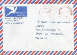Mozambique 1990 Maputo Universal �Automax� ,eter franking EMA  cover