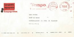 """Mozambique 1989 Maputo Francotyp """"Cc/Ccm"""" I-170 Meter Franking EMA Cover. Rare From Newspaper Company - Mozambique"""