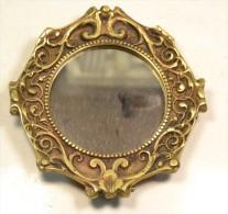 Miroir / Cadre En Bronze De Style Art Nouveau - Cuivres