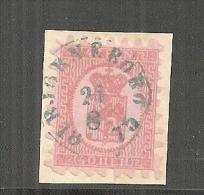 SFMi.Nr.9By/ FINNLAND -  1875 Björneborg (Pori) Stempel  In Blau - 1856-1917 Russian Government