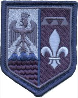 Gendarmerie écusson épaule -  LGD PACA Bv Bleu - Police & Gendarmerie