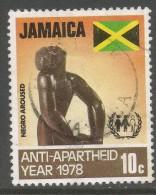 Jamaica. 1978 International Anti-Apartheid Year. 10c Used. SG 460 - Jamaica (1962-...)