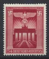 Germany 1943  10.Jahr Machtergreifung Hitler  (**) MNH Mi.829 - Germany