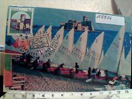 ESPERANTO FILATELICA EXPO FIRENZE 1984 DA SARAJEVO E VERSAILLE CON LE CASTELLA  ISALA CAPO RIZZUTO EM8465 - Esperanto