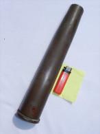 RARE DOUILLE OBUS 40 mm KRIEGSMARINE ---  FABRICATION BELGE F.N.  1940 ---