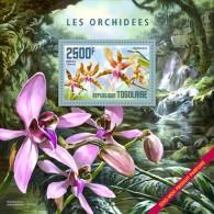 Togo. 2014 Orchids – Perfumet. (402b) - Orquideas