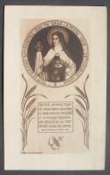 IMAGE PIEUSE (vers 1920) Abbaye De Maredret N° 475 : SAINTE THERESE DE L'ENFANT JESUS - HOLY CARD / SANTINO - Images Religieuses
