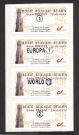 Belg. 2012 - Bruges - Brugge ** - Vignettes D'affranchissement