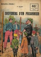 REVUE WW1 - COLLECTION PATRIE - SOUVENIRS D UN PRISONNIER