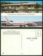 USA -  [OF #12806] - NORFOLK REGIONAL AIRPORT - AEROPUERTO AVION PLANE AMEIRCAN CARS - Norfolk