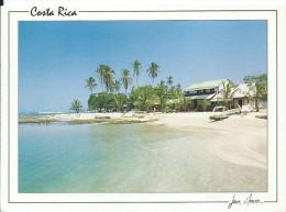 PUERTO VIEJO (Costa Rica) Limon Province Provincia - Plage Beach (RARE Animée Circulé MIAMI FL Voir Détails 2scan)MEA154 - Costa Rica