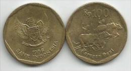 Indonesia 100 rupiah 1996.