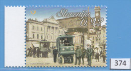SLOVENIA 2009; Mi: 741; MNH; Vehicles, Trolley Bus In Piran, Transport - Transport