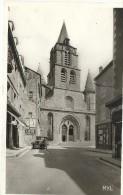 87  SAINT  JUNIEN  L EGLISE  PAROISSIALE    ( Petit Beurre LU  LU  Lefevre  Utile +  voiture  ancienne  )