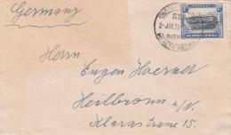 Brief SÜDWEST AFRIKA 1931 - 3 D Auf Brief Gel.1931 > Heilbronn - Briefmarken