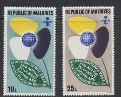 Maldive Islands  - Maldives  1971 Racial Equality Year  *** MNH - Maldives (1965-...)