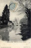 77  ROZAY En BRIE  Le Pont De La Rivière D´Yerres - Rozay En Brie