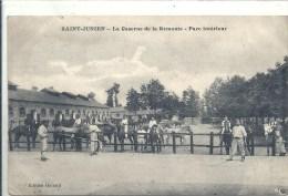 LIMOUSIN - 87 - HAUTE VIENNE - SAINT JUNIEN - La caserne de la remonte - Parc Int�rieur