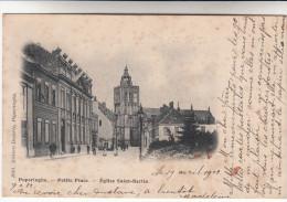 Poperinge, Poperinghe, Petite Place, Eglise Saint Bertin (pk14174)