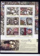 CANADA 2003  # 2002, RIOPELLE Painter Sculptor Sheetlet** MNH - Feuilles Complètes Et Multiples