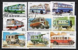 BUS - 9 Tipi Di Autobus  °° Usati/used - Bus