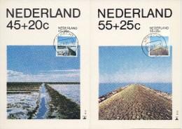 4 Maximumkaarten Philato - R12 T/m R15 (1981, Zomer) - Maximum Cards