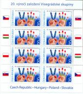 CZ 2011-673 VISEGRAD GROUP, CZECH REPUBLIK, MS, MNH - Gemeinschaftsausgaben