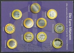 Deutsche Postkarte Euro Coins 1999 nach Estland gesendet
